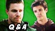 Arrow Season 3 and The Flash Episode 6 Q&A FLARROW