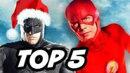 The Flash and Justice League Save Christmas TOP 5 Stories