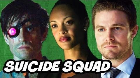 Arrow Season 2 Episode 6 Review - Amanda Waller and Suicide Squad Teaser