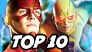 The Flash Season 3 Episode 1 Flashpoint - TOP 10 WTF and Easter Eggs