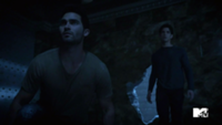 Teen Wolf Season 3 Episode 2 Tyler Posey Tyler Hoechlin Scott McCall Derek Hale Bank Vault Break In