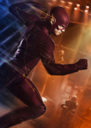 The Flash fight club promotional