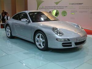 800px-2004 silver Porsche 911 Carrera type 997
