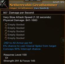 Netherrealm Greathammer