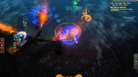 Torchlights 2 3 Sisters Quest Bosses Fight With Engineer