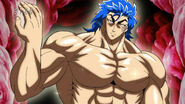 Toriko after eating Jewel Meat 1
