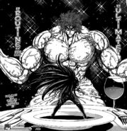 Toriko preparing for Ultimate Routine