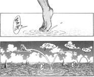 Ichiryuu walking on water