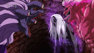 Devil Serpent vs Toriko and Coco Aura