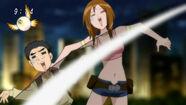 Tina and Komatsu not liking Sunny' landing
