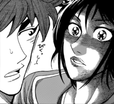 Rin shocked from Toriko's answer