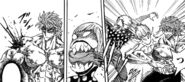 Tommy biting flesh from Toriko