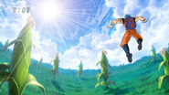 Toriko reaching the top of Wul Jungle 1