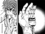Toriko loosing finger
