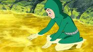 Komatsu in the Mors Oil pond