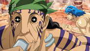 Toriko getting behind Grinpatch