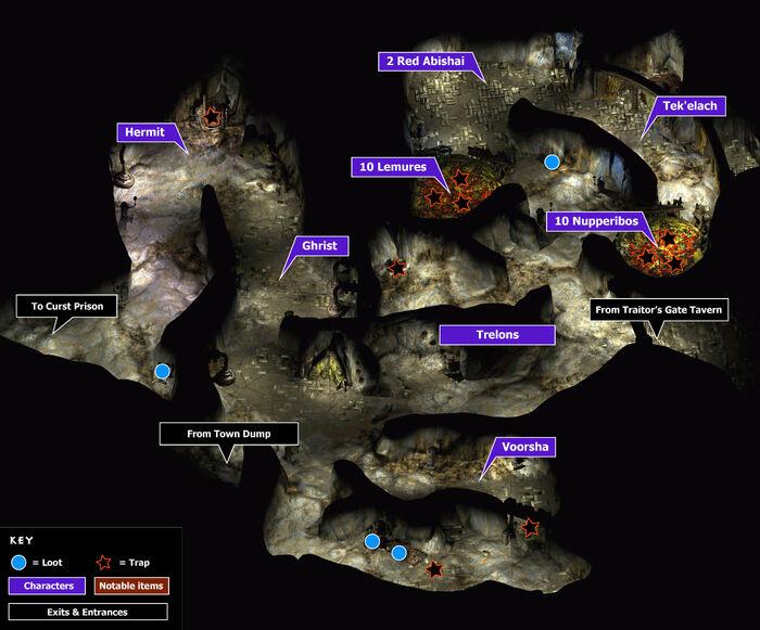 Curst underground map