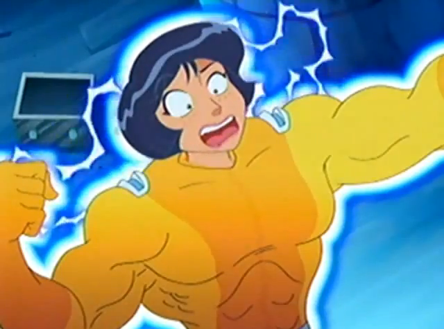 Image - Alex-muscle-25.PNG | Totally Spies Wiki | Fandom powered by ... Sabrina The Animated Series Hilda