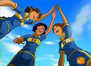 Alex, Jackie, Diva