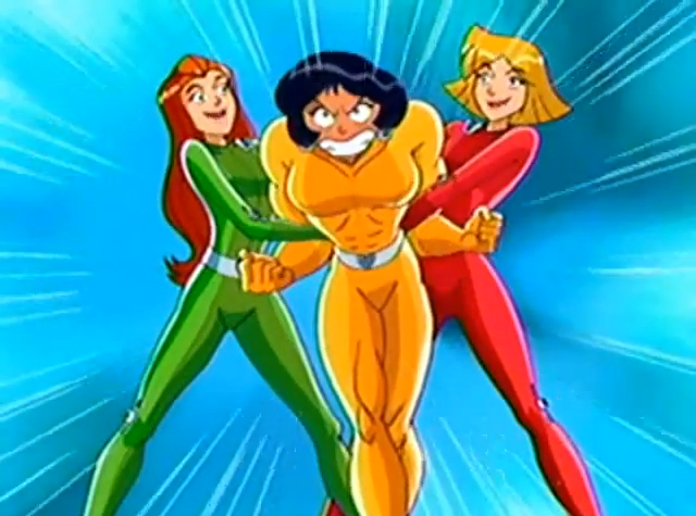 totally spies rule 34