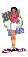 Alex Totally Spies cosplay Julie Ben10