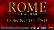 ROME Total War™ for iPad – Announcement Trailer