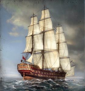 74-gun Ship-of-the-Line NTW