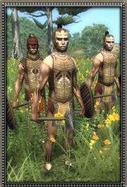 Apachean War Chief's Men