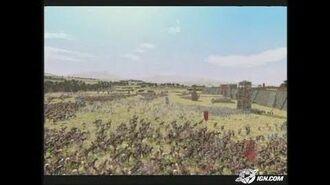 Rome Total War PC Games Trailer - Rome Total War E3