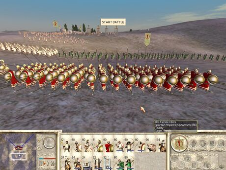 34 greek infantry hoplites spartans screen
