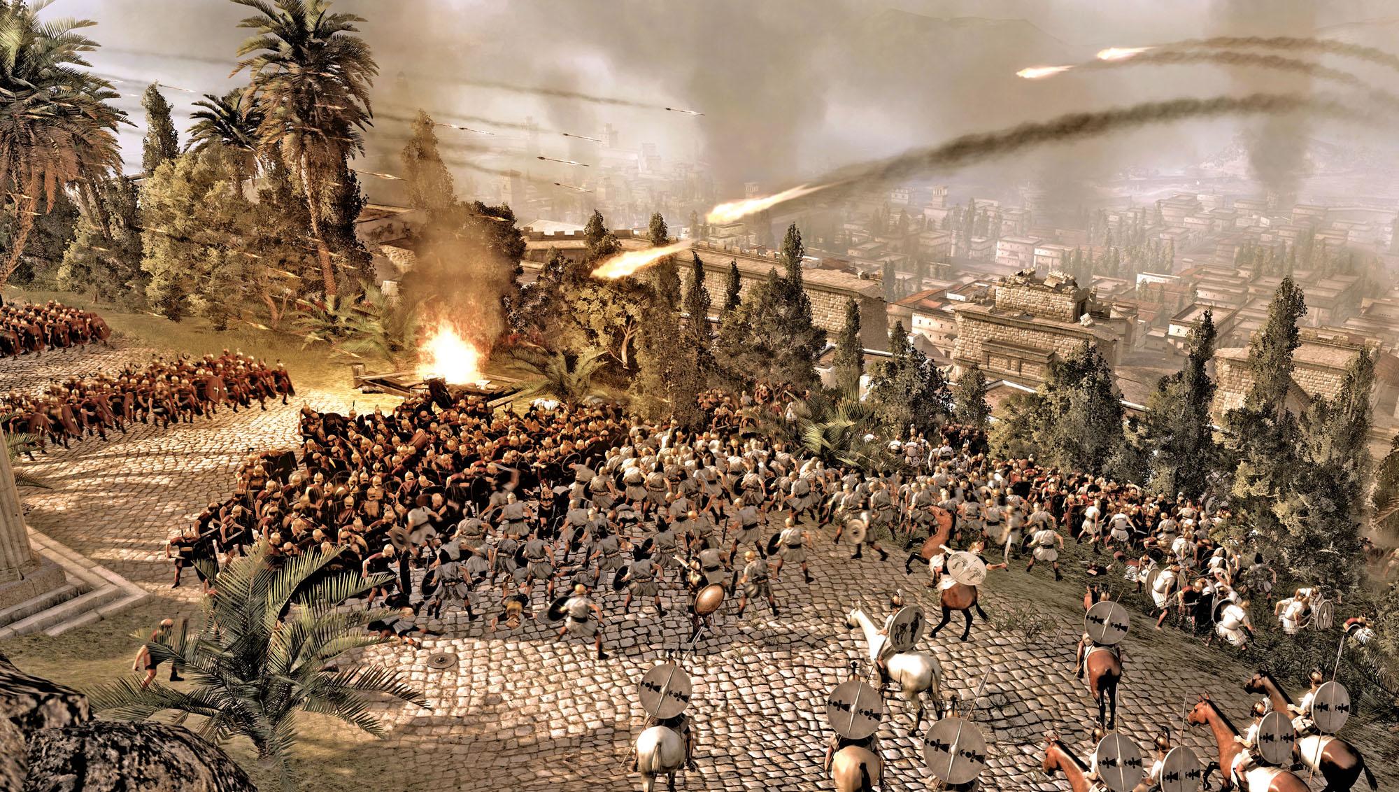 role in Total War Rome II  War