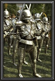 Dismounted gothic knights info
