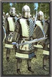 Portugese Dismounted Feudal Knights