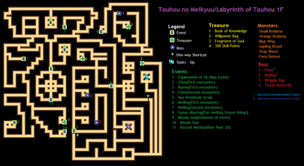 TouhouLabyrinth1F