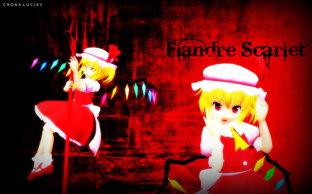 File:Touhou Flandre Scarlet Wallpaper.jpg