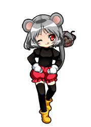 Nazrin Mickey Mouse