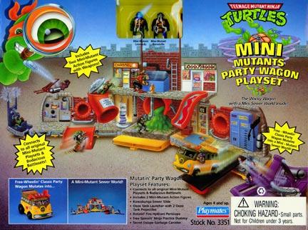 File:Teenage Mutant Ninja Turtles Mini Mutants Party Wagon playset.jpg
