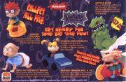 Rugrats 1998 Burger King toys