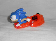 Sonic 3 Sonic Happy Meal toy