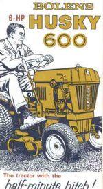 Bolens Husky 600 ad