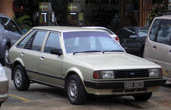 Ford Laser (first generation) (front), Serdang