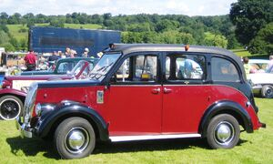 Beardmore 'London' Taxi from ca 1965