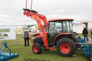 Kubota L5740 with LA854 Loader at EofES 2010 - IMG 0134