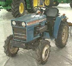 Hinomoto C174 MFWD (blue)