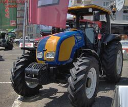 Valtra A75 MFWD (yellow & blue) - 2009