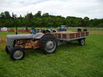Ferguson FE-35 and 3 ton trailer at Belvoir 08 - P5180396