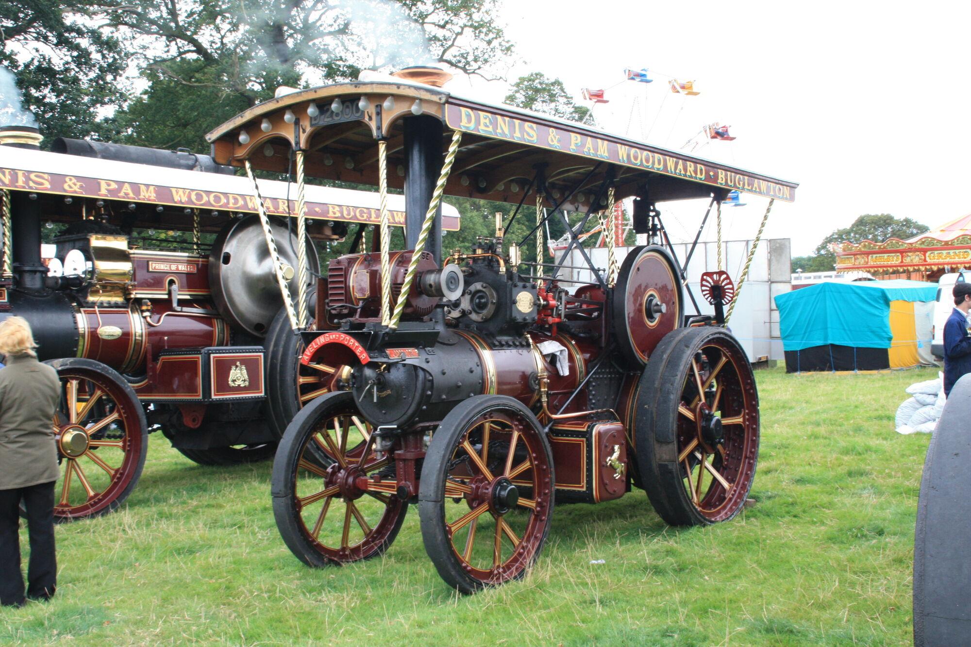 Shrewsbury steam rally tractor construction plant wiki fandom powered by wikia - Porter international wiki ...