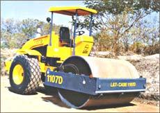 L&T Case 1107D compactor