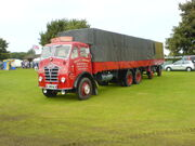 Foden FG and trailer - RTJ 276 at Lincoln 08 - DSC00046