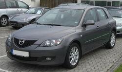 Mazda 3 Facelift front